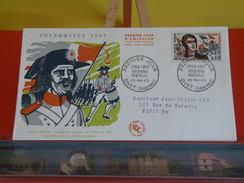 FDC > France > 1960-1969 > Étienne Mèhul - 08 Givet - 25.5.1963 - 1er Jour. Coté 3 € - FDC