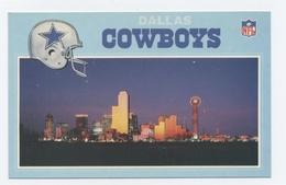 NFL  --FOOTBALL  AMERICAN DALLAS AND THE DALLAS COWBOYS   -RECTO VERSO **C89 - Dallas