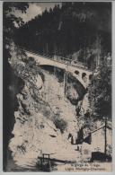 Tretien - Entree Et Viaduc De Le Gorge Du Triege - Ligne Martigny-Chamonix - Photo: Louis Burgy No. 4638 - VS Valais