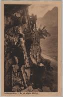 Loeche-les-Bains - Sur Des Echelles D'Albinen Animee - Photo: Chr. Meisser - VS Valais