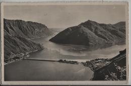 Lago Di Lugano - Ponte Di Melide - Photo: Ditta G. Mayr No. 1071 - TI Tessin