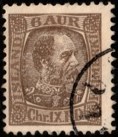 ~~~ Islande Iceland  1902 - Christian IX - Mi. 38 (o) ~~~ - 1873-1918 Dépendance Danoise