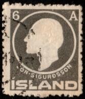 ~~~ Islande Iceland  1911 - Sigurdsson - Mi. 66 (o) ~~~ - 1873-1918 Dépendance Danoise