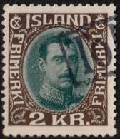 ~~~ Islande Iceland  1931 - Christian X - Mi. 131 (o) - CV 70.00 Euro ~~~ - 1918-1944 Unabhängige Verwaltung