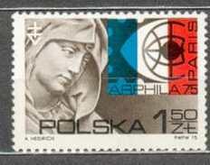 POLAND MNH ** 2206 Exposition à Paris, Tête De Sainte Anne Par Wit Stwosz, église Mariacki à Cracovie