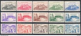 Colonies Françaises & Protectorats - (FEZZAN) - 1946 - N° 28 à 42 - (Série De 15 Valeurs) - Fezzan (1943-1951)