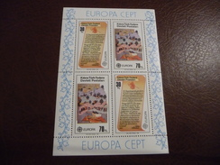 TIMBRES  EUROPA  TURQUIE  CHYPRE  BLOC  FEUILLET  1982     N  3  COTE  7,00  EUROS  NEUFS  LUXE** - Cyprus (Turkey)