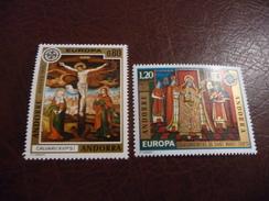 TIMBRES   EUROPA   1975   ANDORRE  FR    N  243 / 244   COTE  18,50  EUROS      NEUFS  LUXE** - Europa-CEPT