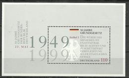 BRD 1999, 2x Block 48, Postfrisch - [7] Federal Republic