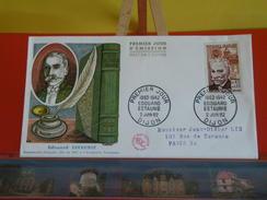 FDC > France > 1960-1969 > Édouard Estaunié - 21 Dijon - 2.6.1962 - 1er Jour. Coté 5,20 € - 1960-1969