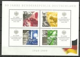 BRD 1999, Block 49, Postfrisch - [7] Federal Republic