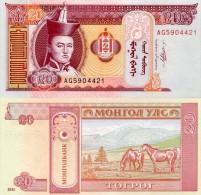 Mongolie (2011)  -  20 Tugrik  P New  UNC - Mongolia