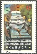 Sc. # 1733 Canals, Trent-Severn, Ontario Single Used 1998 K095 - 1952-.... Règne D'Elizabeth II