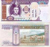 Mongolie (2008)  - 100 Tugrik   P 65  UNC - Mongolia