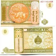 Mongolie (2008)  - 1 Tugrik   P New  UNC - Mongolia