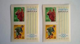 BHOUTAN  BLOC    N° 1 + 1A  NON DENTELE    NEUF ***  LUXE  GOMME PARFAITE - Bhutan