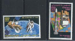 Djibouti N° 696/97** (MNH) 1992 - Année Internationale De L'espace
