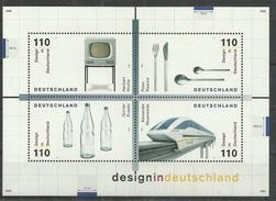 BRD 1999, Block 50, Postfrisch - [7] Federal Republic