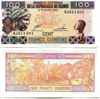 Guinée (1998)  -   100 Francs   P 35  UNC - Guinea