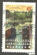 Sc. # 1728 Canals, Rideau Canal, Ontario Single Used 1998 K098 - 1952-.... Règne D'Elizabeth II