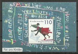 BRD 1999, 2x Block 51, Postfrisch - [7] Federal Republic