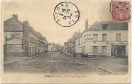 27 - GISORS (Eure) - Faubourg Cappeville. Animée, Circulé En 1906. - Gisors