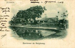 TONKIN   ENVIRONS DE HAIPHONG  VIET NAM - COCHINCHINE - - Vietnam