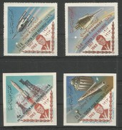 YEMEN - MNH - Space - Kennedy - 1917 - 1963 - Perf. + Imperf.