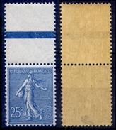 France N° 132 HdF Neuf ** (MNH) Centrage Parfait - Signé Calves - Qualité LUXE - Neufs