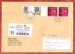 Einschreiben Reco, MiF Feuerbach U.a., Singen Nach Leonberg 2004 (37554) - Covers & Documents