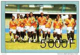 Prépayé Côte D'Ivoire - Orange - Football 5000 Fcfa