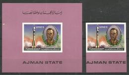 AJMAN - MNH - Space - Soyuz II - Imperf.