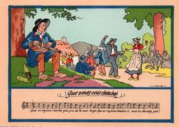 QUE VENEZ VOUS CHERCHER - Folklore Auvergne - Folklore