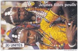 Mali, MAL-O-34, Jeunes Filles Peulh, Women, 2 Scans. - Mali