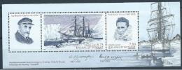 Groenland  BF 38   * *  TB  Explorateurs Français Charcot Et Paul-emile Victor - Blocks & Sheetlets