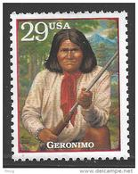 1994 Legends Of The West Single, Geronimo, Mint Never Hinged - Unused Stamps