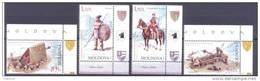 2012. Moldova, History Of Medieval Moldova, Set,  Mint/** - Moldavie