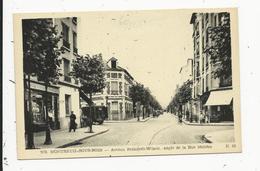 Montreuil   Avenue President Wilson  Angle De La Rue Moliere - Montreuil