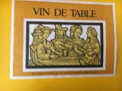 4005 - Vin De Table Suisse, Ménestrel - Musique