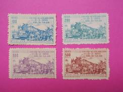 Viêt-Nam Nord ,  1955   Timbre N° 89 à 92   Neuf ** - Viêt-Nam