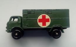 Lesney No.63-Ford-3-Ton-Service-Ambulance - Restoration Project - Cars & 4-wheels