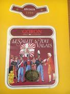 4012 - Goron Le Salut Du Valais 1989 Suisse - Militaire
