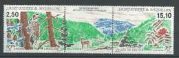 """SPM YT 568A Triptyque """" Patrimoine Naturel """"  1992 Neuf** - St.Pierre & Miquelon"""