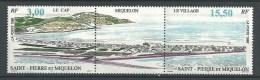 """SPM YT 640A Triptyque """" Paysage """" 1996 Neuf** - St.Pedro Y Miquelon"""