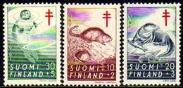 08651 Finlandia 512/14 Animais Diversos Tuberculose Nnn
