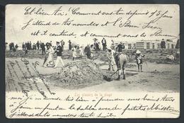 "+++ CPA - "" Les Plaisirs De La Plage "" - Cachet MIDDELKERKE 1905   // - Middelkerke"