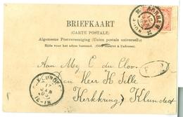 NEDERLAND BRIEFKAART Uit 1903 Van ARNHEM Naar KLUNDRT * NVPH 51 (10.625) - Periode 1891-1948 (Wilhelmina)