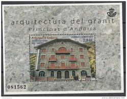 Andorra Español 2015 Yvert F422 Neuf ** Cote (2017) 8.50 Euro Architecture En Granit Hôtel Rosaleda - Nuovi