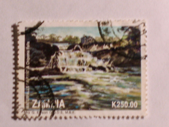 ZAMBIE 1993  LOT# 11  WATERFALL - Zambie (1965-...)