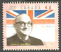 Sc. # 1709e Provincial Premier, Joseph Smallwood, Newfoundland Single Used 1998 K099